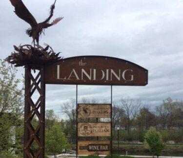 Birkett Landing The Landing Custom Sign Penn Yan