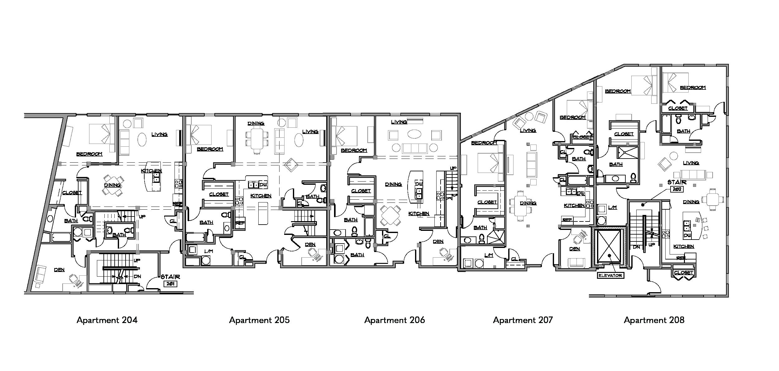 Birket Landing Second Floor Plan Penn Yan