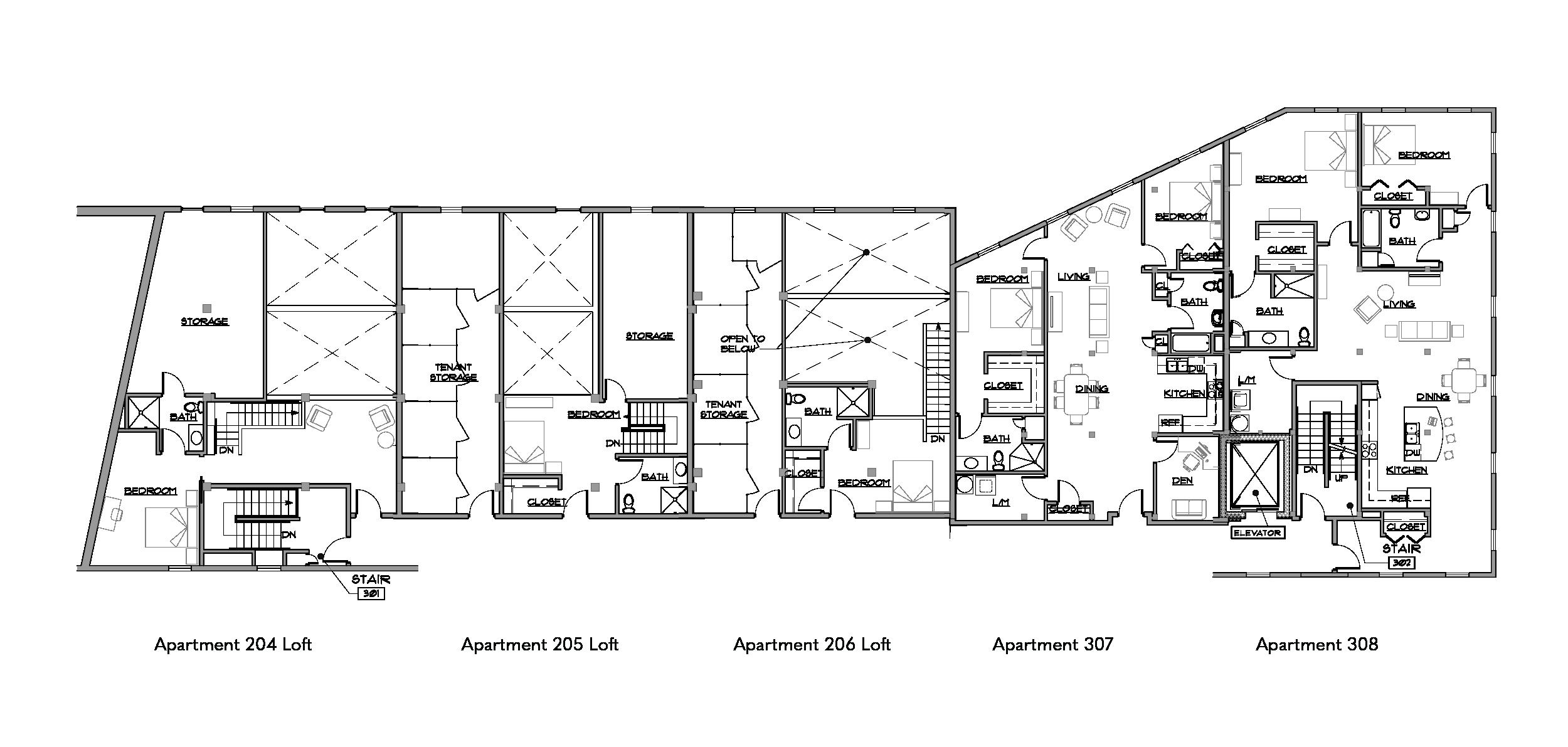 Birket Landing Third Floor Plan Penn Yan