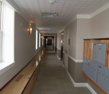 Birkett Landing Hallway Mailbox