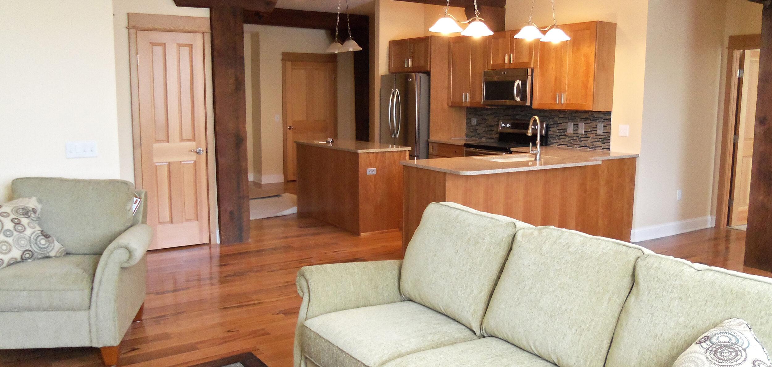 Birkett Landing Keuka Lake Outlet Penn Yan Living Room Kitchen