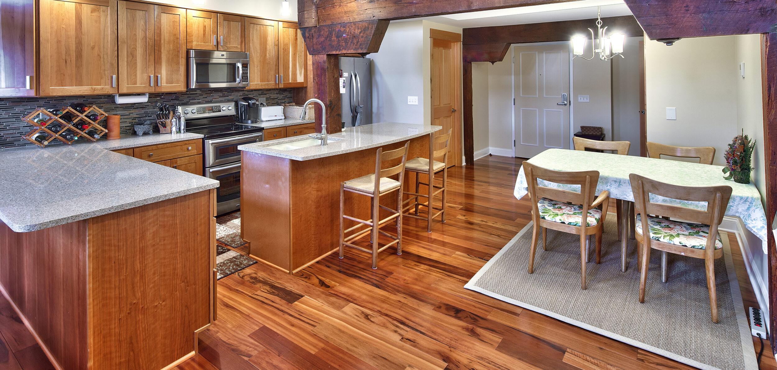 Birkett Landing Kitchen Dining Area
