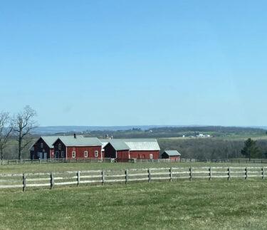 Birkett Landing Location Country Farm Scene