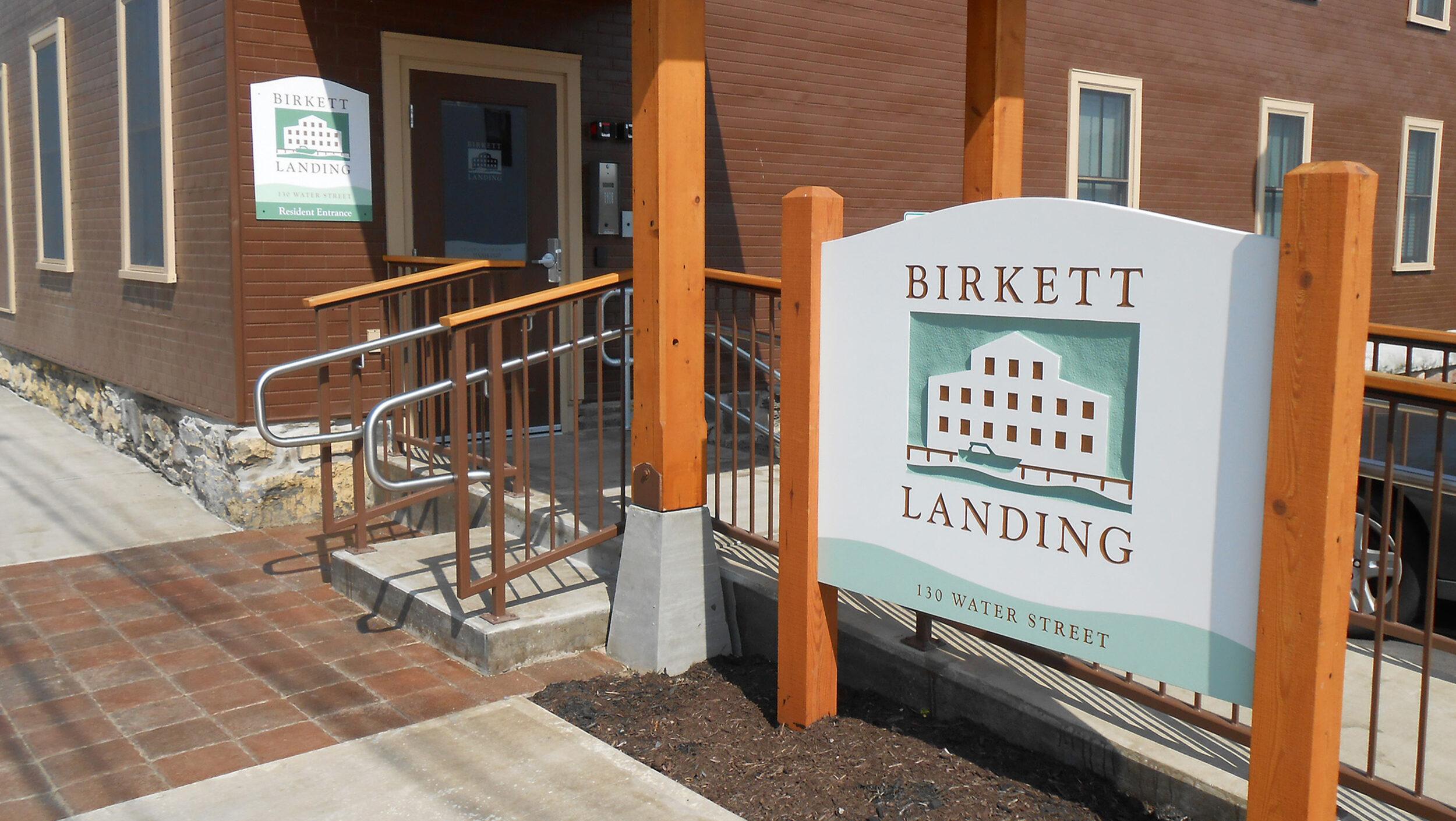 Birkett Landing Main Entrance Penn Yan Ny 72