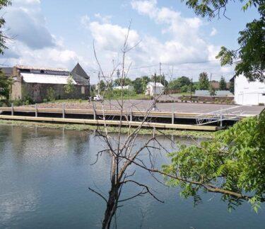 Birkett Landing Waterfront Keuka Outlet Dock 1