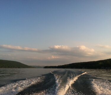 Keuka Lake Boating Birkett Landing Penn Yan New York